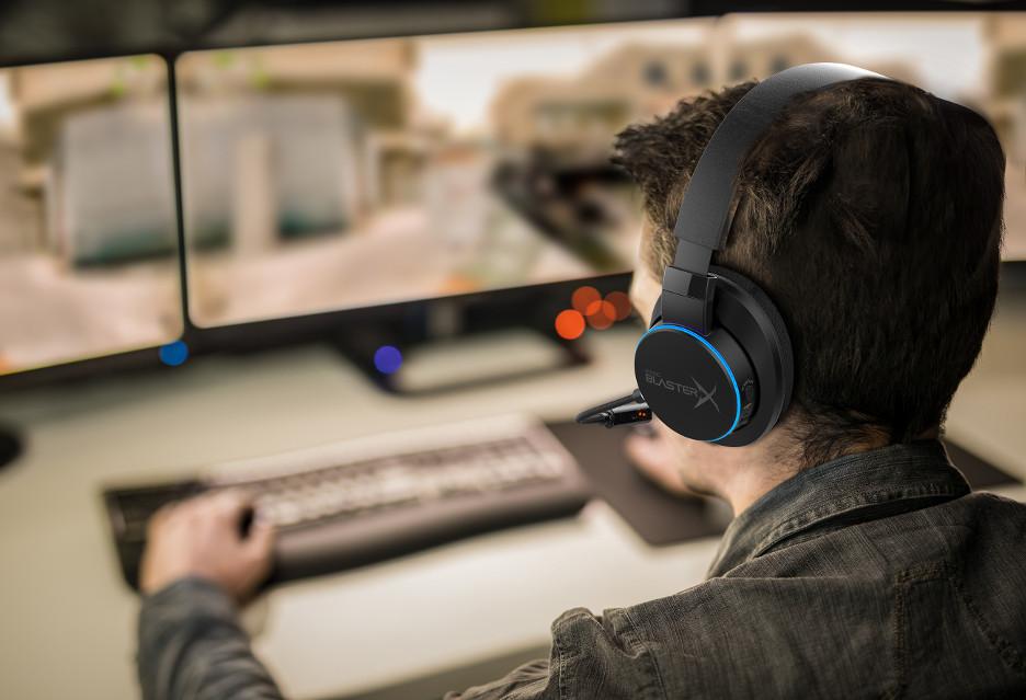 Sound BlasterX H6 - uniwersalne słuchawki gamingowe według Creative