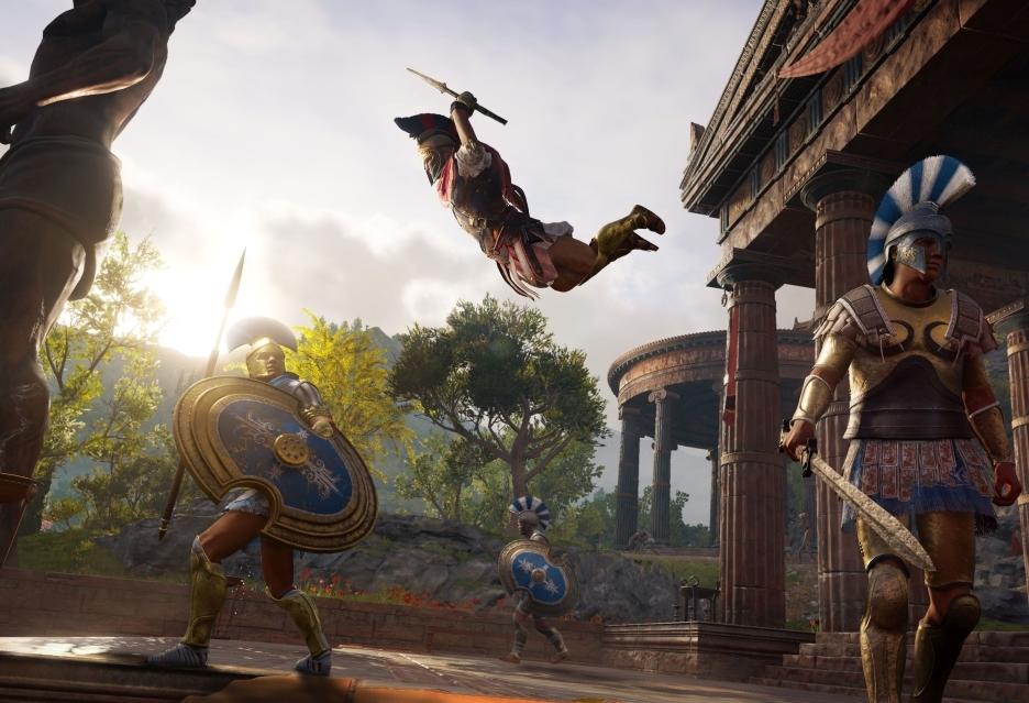 Assassin's Creed Odyssey zalicza świetny debiut