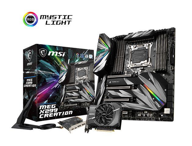 MSI MEG X299 Creation - płyta pod Intel Core X dla prawdziwych entuzjastów