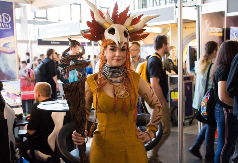 Hostessy, cosplay i wystawcy na PGA 2018 | zdjęcie 48