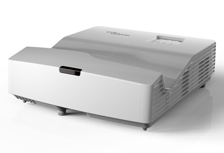 Optoma 330UST - projektrory ultrakrótkiego rzutu - by prelegent nie rzucał cienia