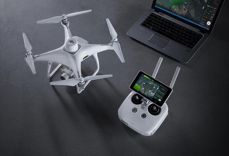 "Dron z gatunku ""pro"" - DJI Phantom 4 RTK"