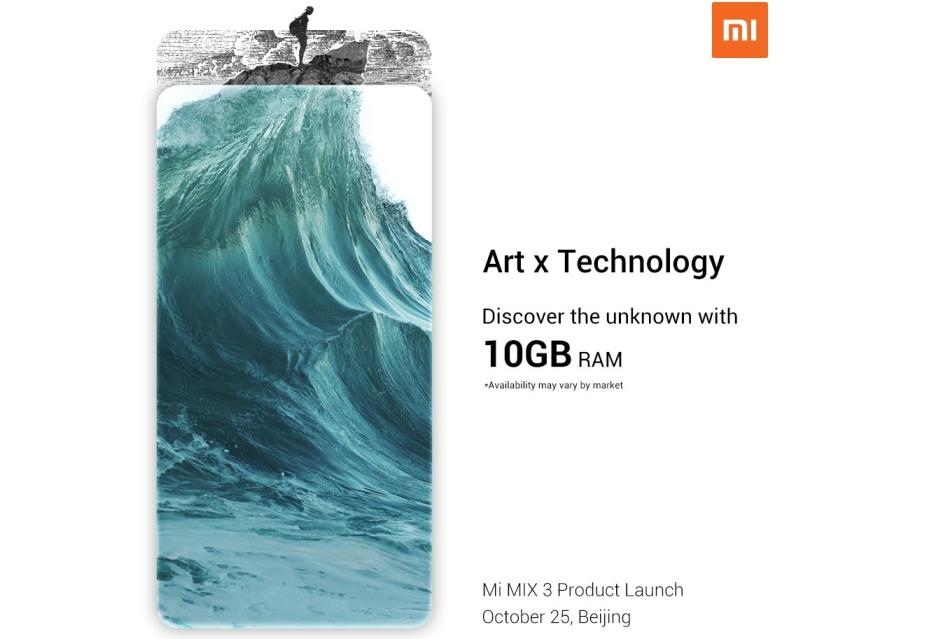 BANG! Xiaomi Mi Mix 3 będzie miał aż 10 GB RAM