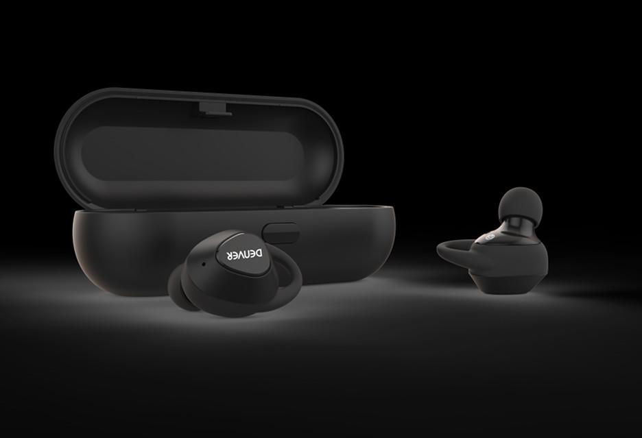 Słuchawki bezprzewodowe i głośnik retro - nowy sprzęt marki Denver
