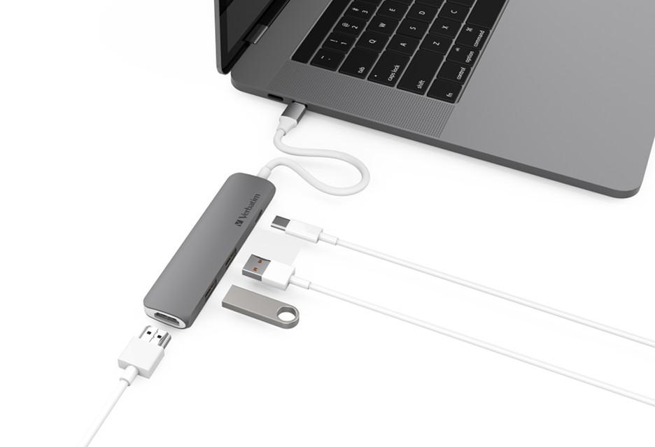 Sposób firmy Verbatim na deficyt portów w laptopie z USB-C