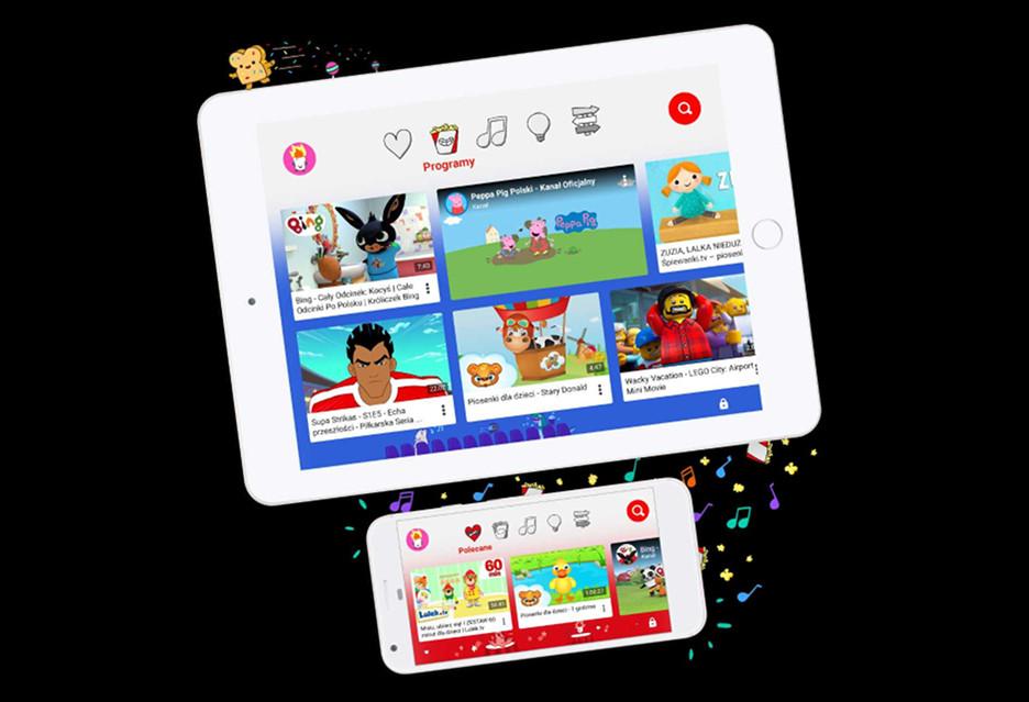 YouTube dla dzieci - polska aplikacja już dostępna