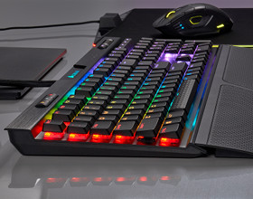 "Niskoprofilowy ""mechanik"" - Corsair K70 RGB MK.2 Low Profile"