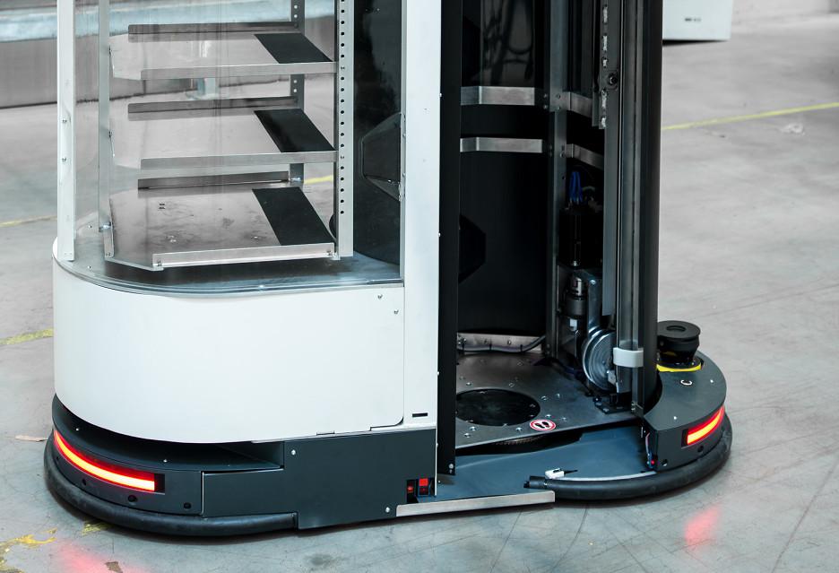 Roboty w magazynie Zalando