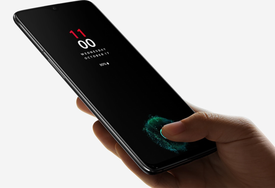 OnePlus 6T oficjalnie zaprezentowany - ma czytnik linii papilarnych w ekranie