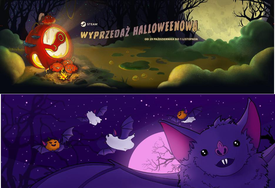 Halloweenowe wyprzedaże gier na Steamie i GOG-u