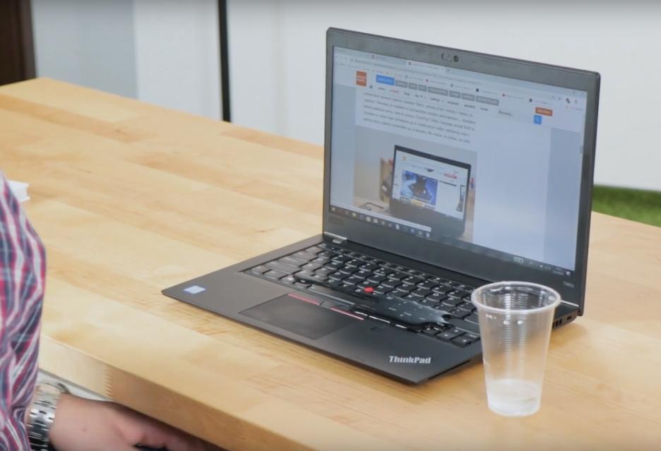 Ekstremalny test Lenovo ThinkPad T480s