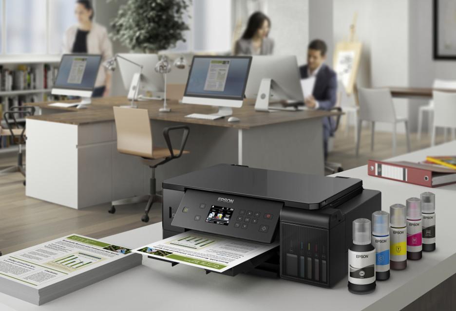 Dla kogo drukarki Epson EcoTank z 5-kolorowym zestawem atramentów?