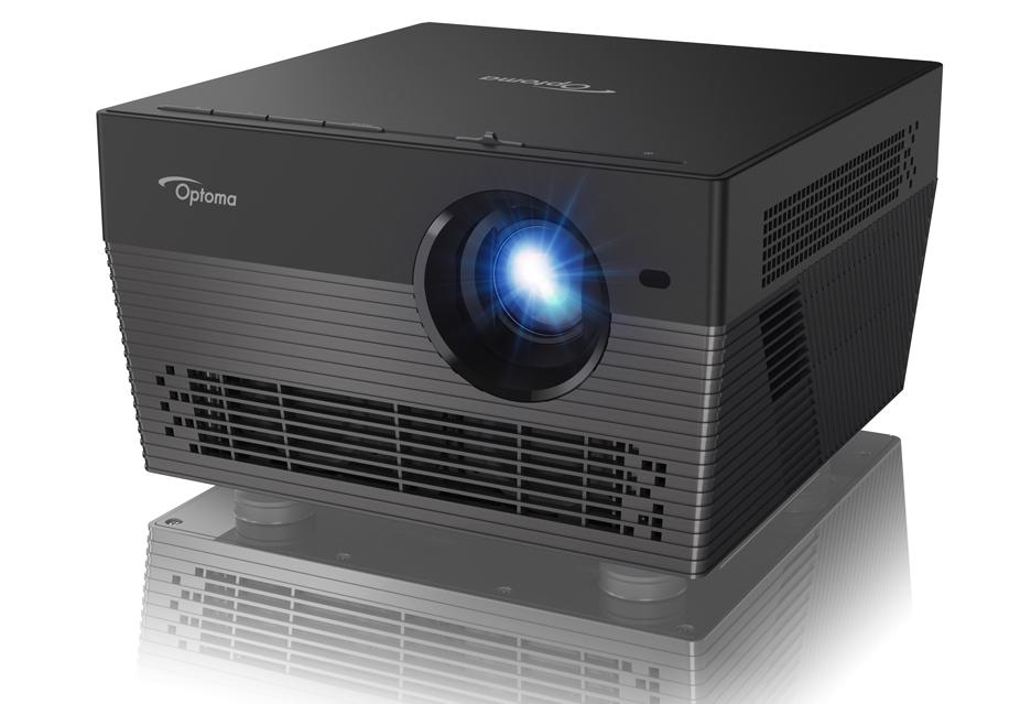 Optoma UHL55 - niewielki smart projektor 4K, może zastąpi twój telewizor
