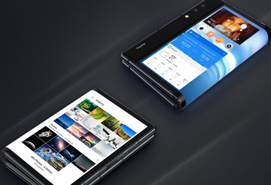 Oto pierwszy smartfon ze składanym wyświetlaczem i procesorem Snapdragon 8150