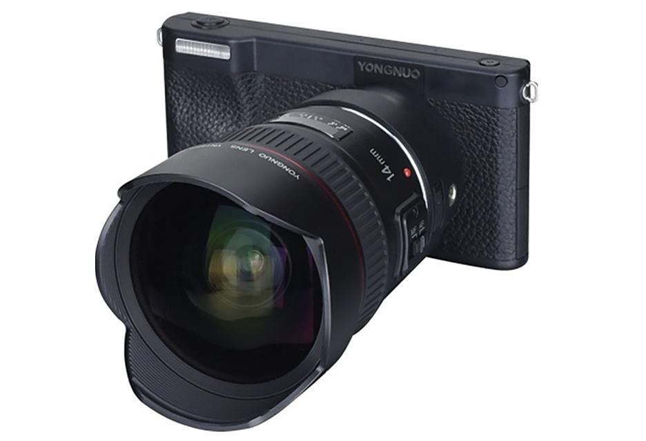 Bezlusterkowiec z Androidem i mocowaniem obiektywów Canon - ma szansę się przyjąć?[AKT]