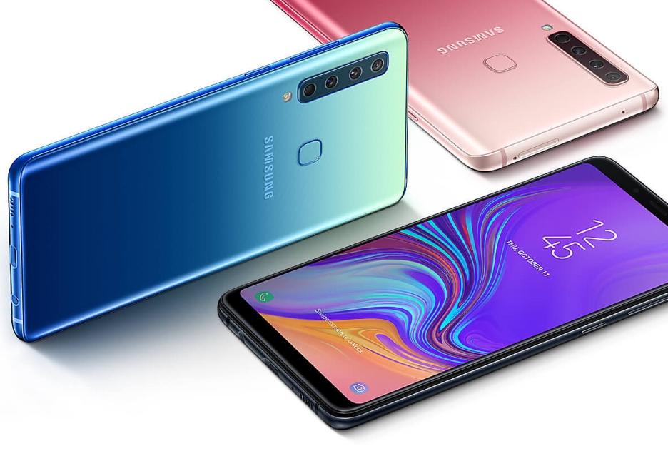 Samsung Galaxy A9 z poczwórnym aparatem w Polsce - cena nie jest niska