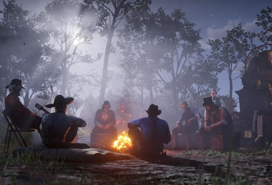 Rewelacyjny debiut Red Dead Redemption 2