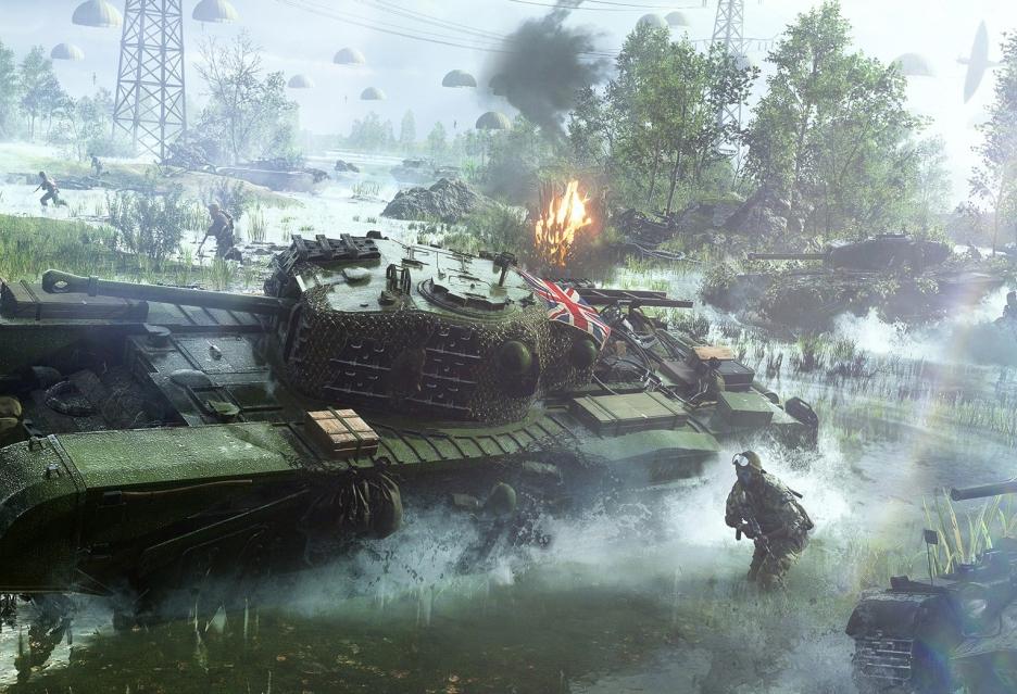 Wypełniony akcją zwiastun premierowy Battlefield V