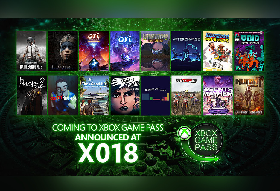 PUBG, Hellblade, Ori i inne gry zmierzają do Xbox Game Pass