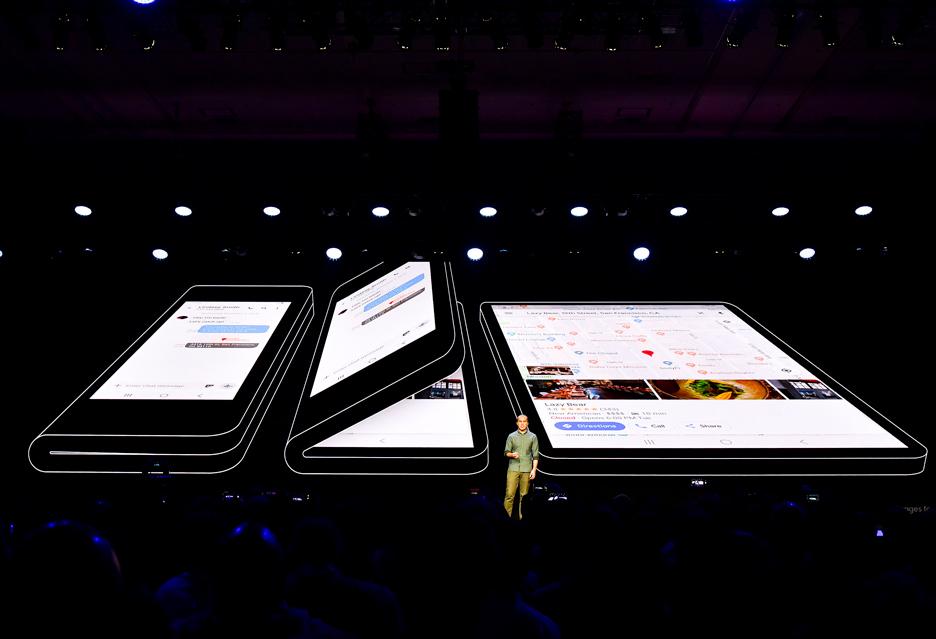 Składany smartfon Samsung  - z perspektywy mobilnego fotografa może być ciekawą opcją