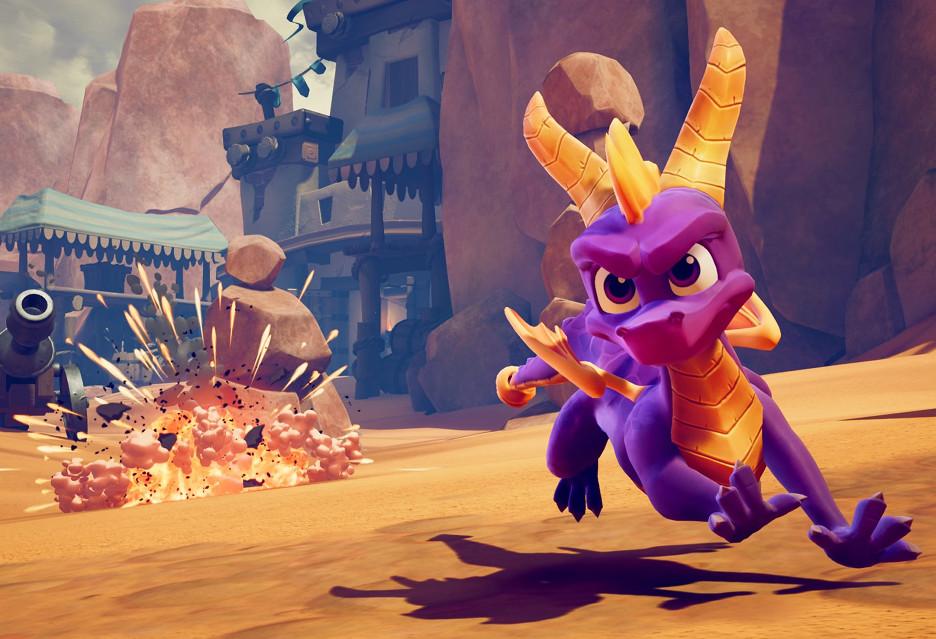 Dziś premiera Spyro: Reignited Trilogy