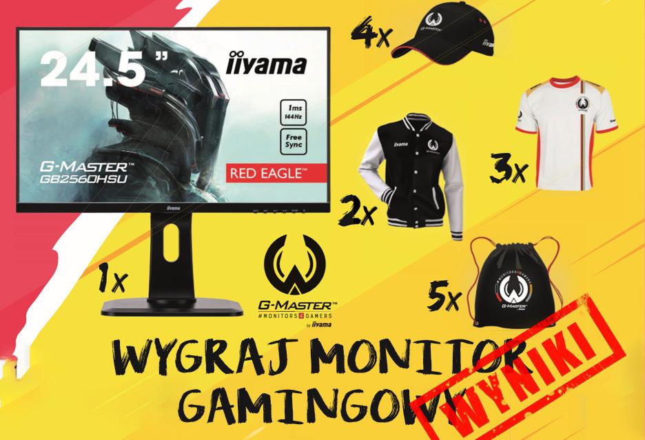Wyniki konkursu: Wygraj monitor gamingowy iiyama G-Master!