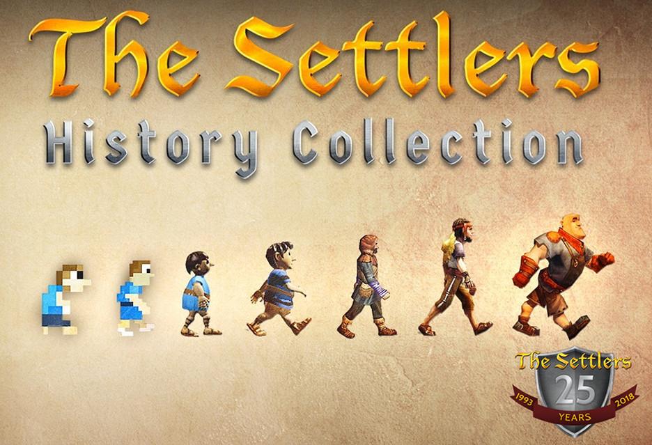 The Settlers History Collection - 7 (ulepszonych) gier w pakiecie [AKT.: za połowę ceny]