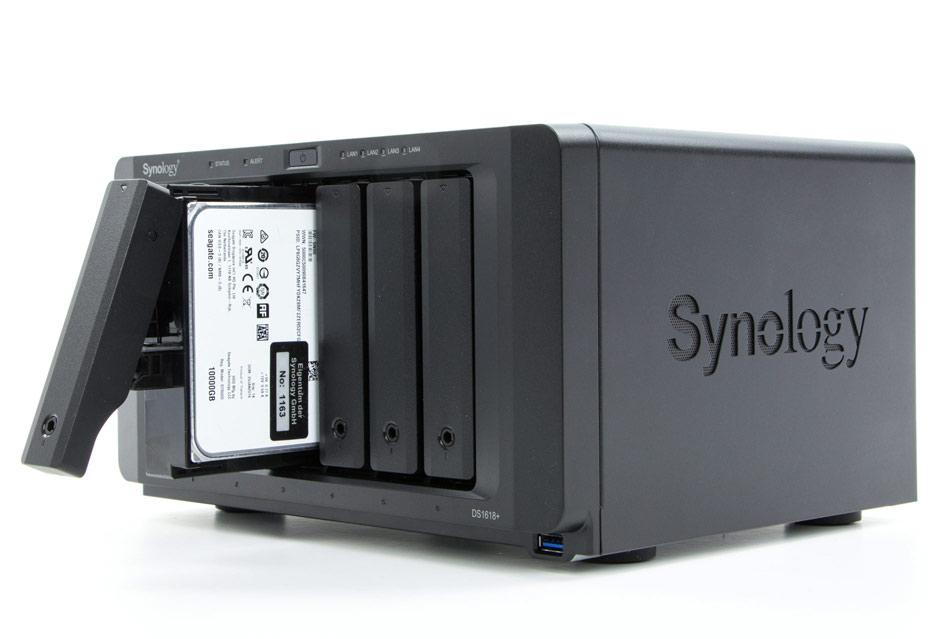 Synology DS1618+ - NAS i znacznie więcej | zdjęcie 1