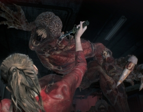 Licker na kolejnym materiale z Resident Evil 2 Remake