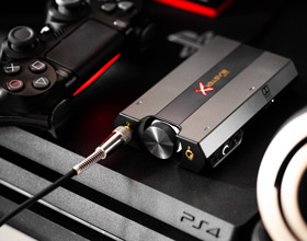 Creative Sound BlasterX G6 - dźwięk z PS4, Xbox, Switch i PC