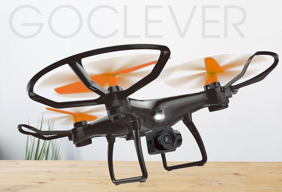 Nowe tanie drony Goclever dla początkujących
