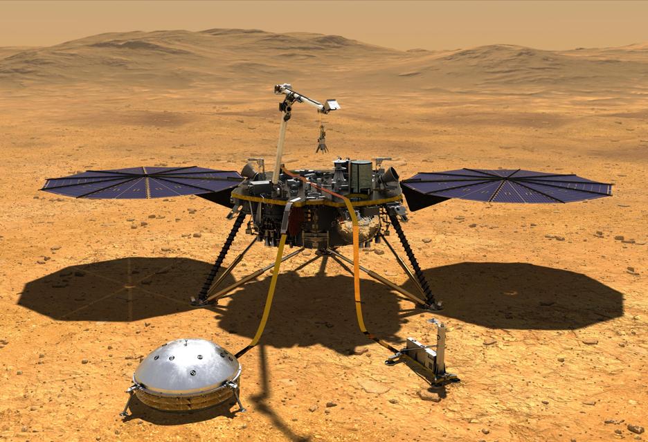 Mars i wgląd w jego sprawy wewnętrzne - InSight wylądował na Czerwonej Planecie | zdjęcie 1