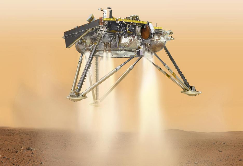 Najważniejsze w tym roku chwile dla badaczy Marsa - [AKT] lądowanie udane
