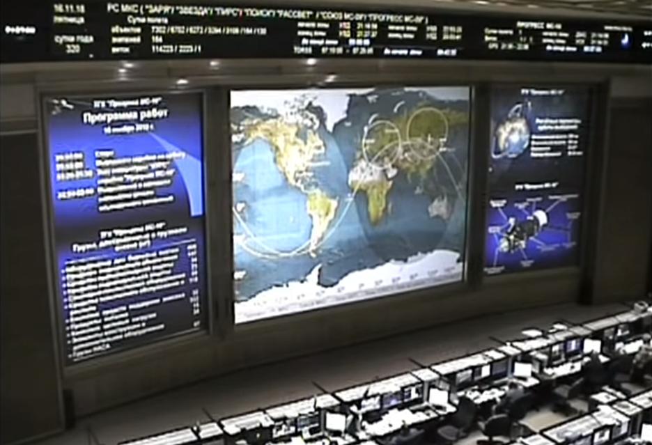 Start rakiety z dostawą towarową na ISS z odmiennej perspektywy - widziany z ISS