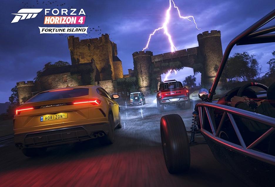 Forza Horizon 4 Fortune Island na zwiastunie