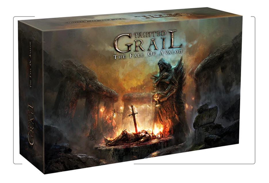 Polska planszówka hitem Kickstartera - Tainted Grail: The Fall of Avalon [AKT.]