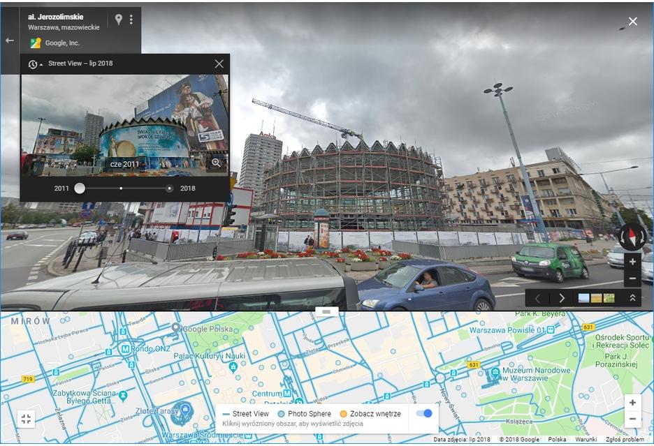 Google Street View Aktualizacja Zdjec Polska 2017 I 2018