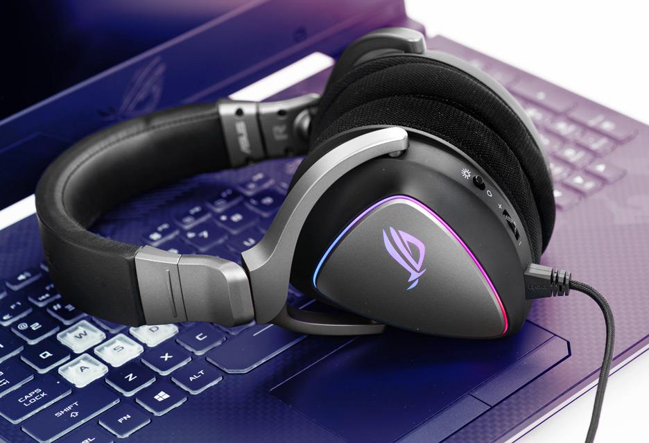 ASUS ROG Delta - znakomite słuchawki do PC, konsoli i smartfona | zdjęcie 3