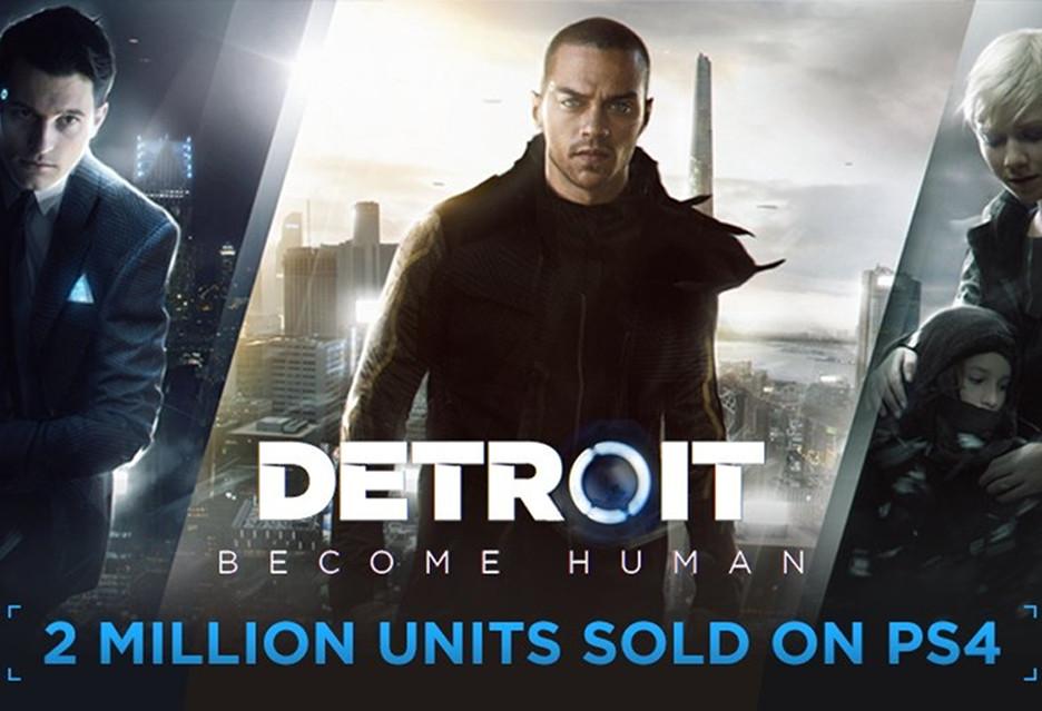 Detroit: Become Human z 2 milionami sprzedanych egzemplarzy