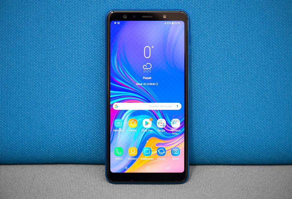Samsung Galaxy A7 2018 - recenzja | zdjęcie 1