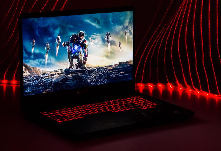 Asus TUF Gaming FX705GD - laptop do gier z ekranem 17,3 cala | zdjęcie 1