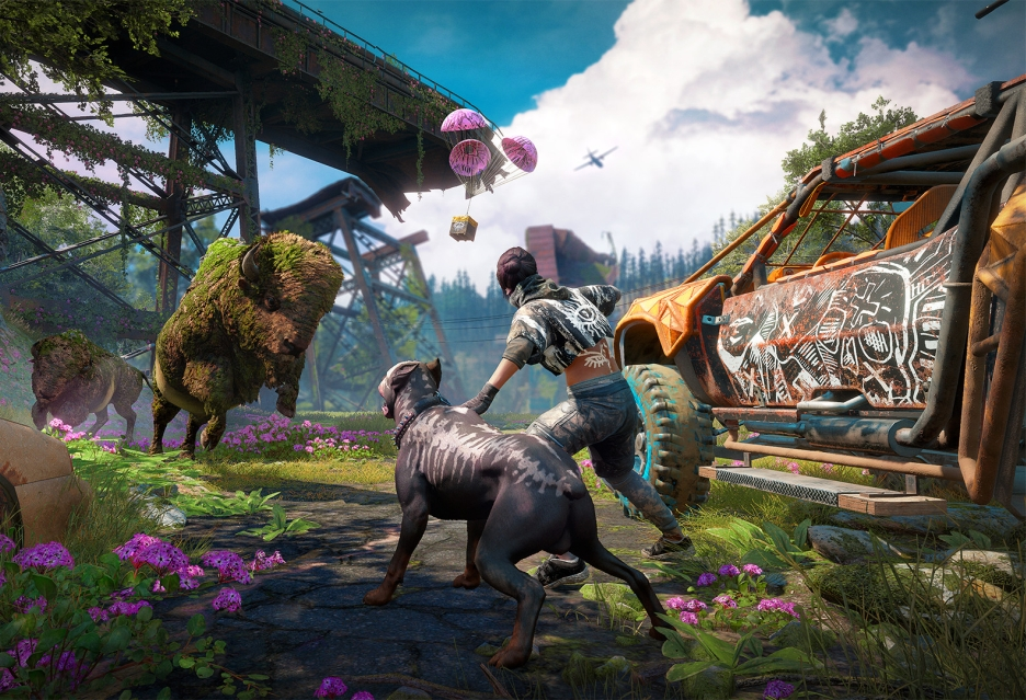 Far Cry New Dawn vs Far Cry 5 - porównanie lokacji
