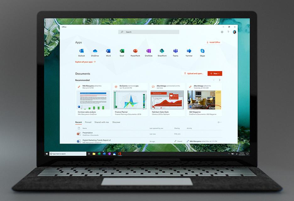 Nowa aplikacja Microsoft Office - praktyczne centrum zarządzania