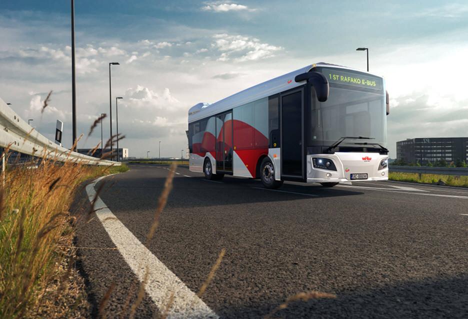 W pełni polski autobus elektryczny - Rafako E-bus