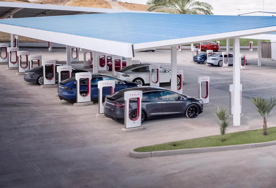 Tesla Supercharger - będzie (dużo) więcej ładowarek na mapie Europy