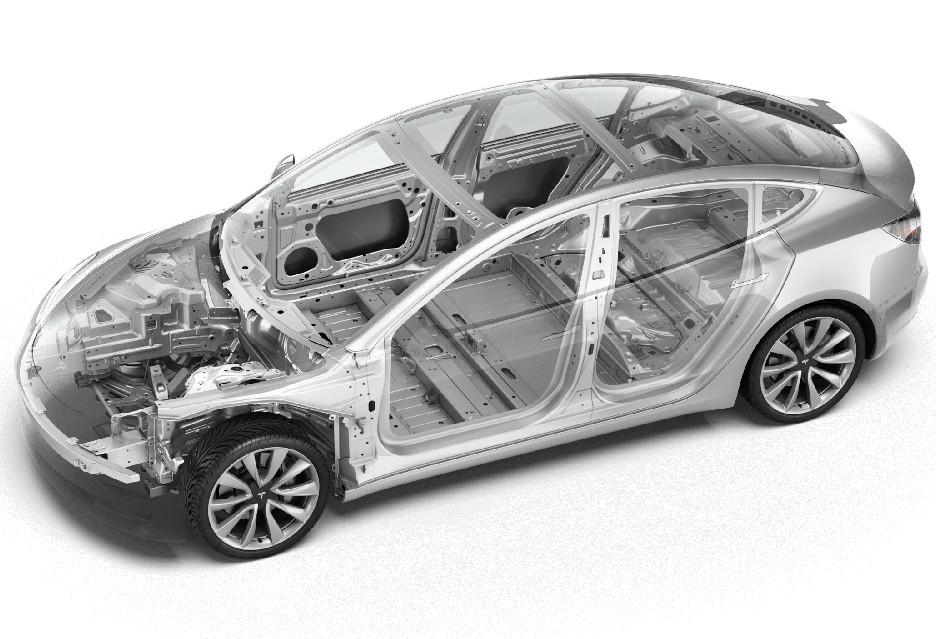 Tesla Model 3 na linii montażowej - tak to jest zrobione