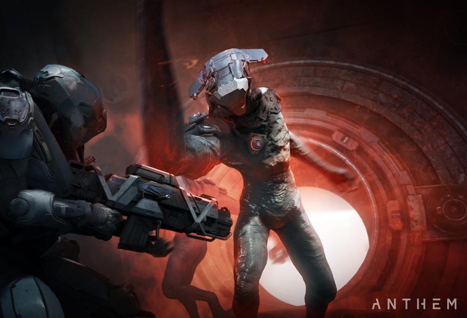 Kwadrans z grą Anthem - gameplay