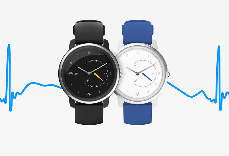 Withings Move to analogowy zegarek z funkcją EKG