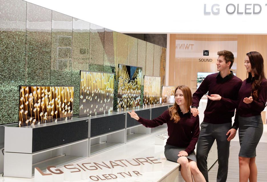 Pierwszy rolowany telewizor OLED od LG w tym roku trafi do sprzedaży