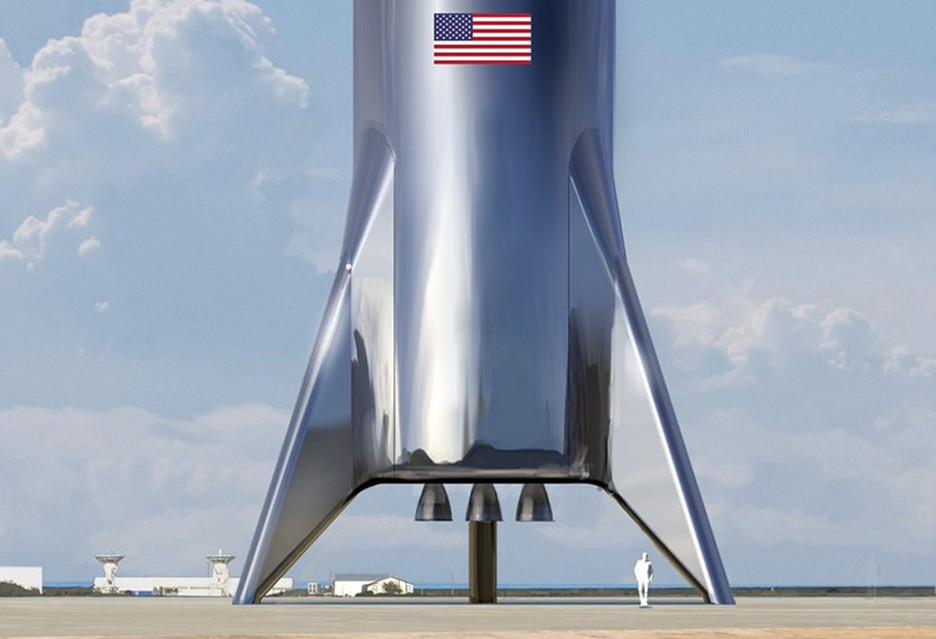 Tak wygląda Starship - najnowsza ślicznotka Elona Muska i SpaceX